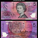 Australia $5 by Robert Abraham