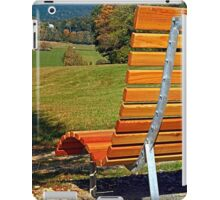 Bench with a view | conceptual photography iPad Case/Skin