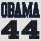 Obama 44 by brattigrl