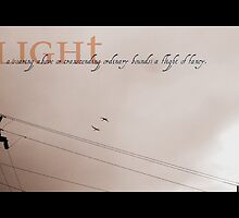 Dictionary of an image : Flight  by Isa Rodriguez