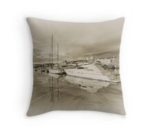 Faded Reflections  Throw Pillow