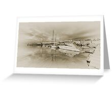 Faded Reflections  Greeting Card