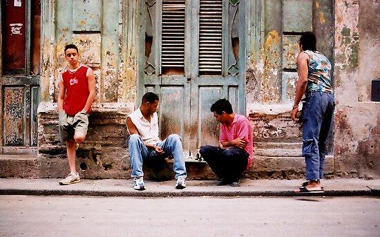 havana street chess  by opiumfire