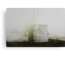 « un matin de brouillard » Canvas Print
