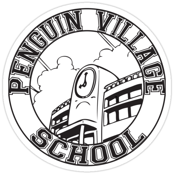 Penguin Village School by duub qnnp