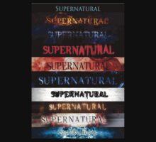 Supernatural intro seasons 1-10 T-Shirt