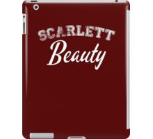 Once Upon a Time - Scarlett Beauty iPad Case/Skin