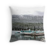 Maligne Lake Throw Pillow