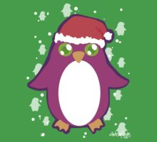 Penguin Santa by Madison Cowles