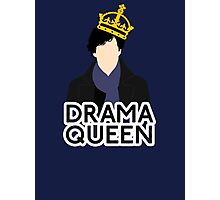 Sherlock - Drama Queen Photographic Print