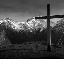 Alpine Cross by TomGreenPhotos