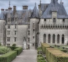 Chateau de Langeais, France #2 by Elaine Teague