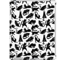 Girly Vintage Whimsical Cats Pattern iPad Case/Skin