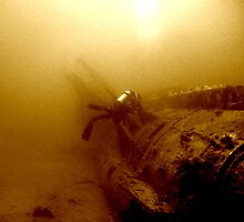 The Wreck of the U352 by Rich Synowiec