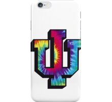 Indiana University Tie Dye Logo iPhone Case/Skin