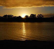 Sunrise - Mannum - South Australia by Michael Tapping