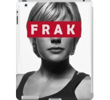 Starbuck - Frak - Battlestar Galactica iPad Case/Skin