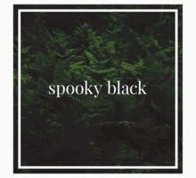 Spooky Black by grubz
