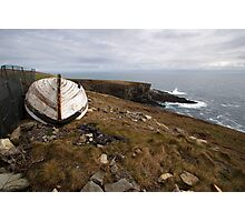 The old boat at Mizen Head Photographic Print