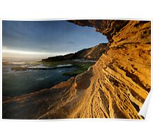 Southern Sandstone Views Poster