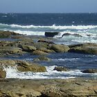 Surf and rocks by erroha