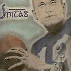 Johnny Unitas by artmgm