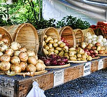 Farm Stand by Mary Lake