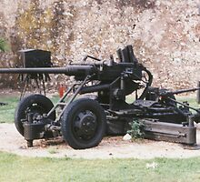 German Anti-Aircraft and Artillery Piece by Edward Denyer