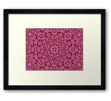 Close-Knit Design Framed Print