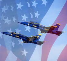 Kennedy Space Center Air Show (featuring U.S. Navy Blue Angels) by artisandelimage