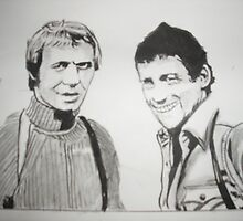 Starsky and Hutch by Colin  Laing