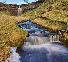 Cray Waterfalls by Stewart Laker
