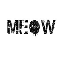 Meow grunge black by Greven