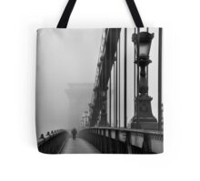 Chain Bridge Tote Bag