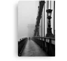Chain Bridge Canvas Print