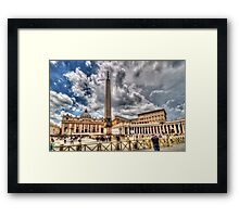The Vatican and St. Peter's Square Framed Print
