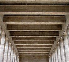 Hall of stone by Eilat Jelin