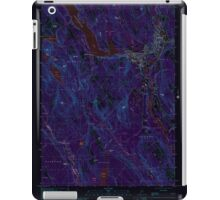 Maine USGS Historical Map Norway 102838 2000 24000 Inversion iPad Case/Skin