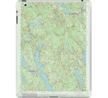 Maine USGS Historical Map Norway 306695 1946 62500 iPad Case/Skin