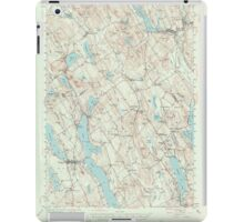 Maine USGS Historical Map Norway 306696 1946 62500 iPad Case/Skin