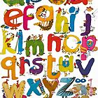 Alphabet by Roland Harvey
