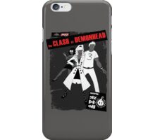 clash at demonhead iPhone Case/Skin