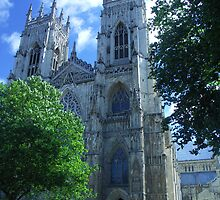 York Minster, York, England by Bev Pascoe