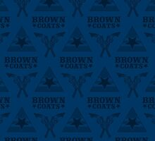 Browncoats forever, Firefly Pattern in Blue by Kelly Street