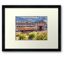 Joe`s Fish Shack - HDR - Fremantle WA Framed Print