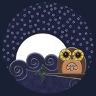 Night Owl - Circle by Louise Parton
