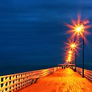 Shorncliffe Jetty by Linda Claridge