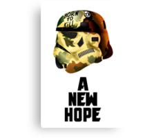 A New Hope: Born To KILL Canvas Print