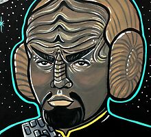 Worf Princess Leia by Stolensouljess