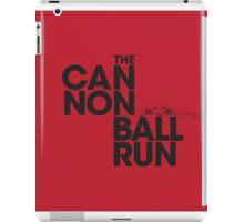 The Cannonball Run - Ferrari 308 GTS iPad Case/Skin